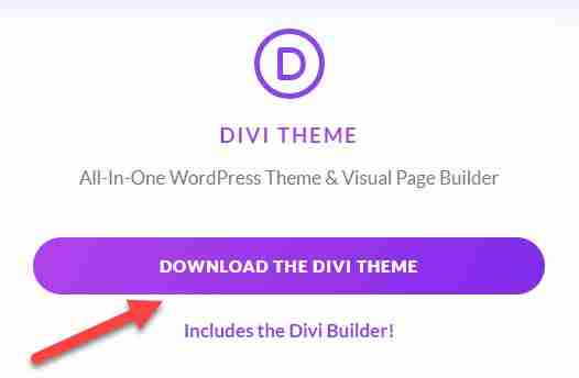 how to download divi theme