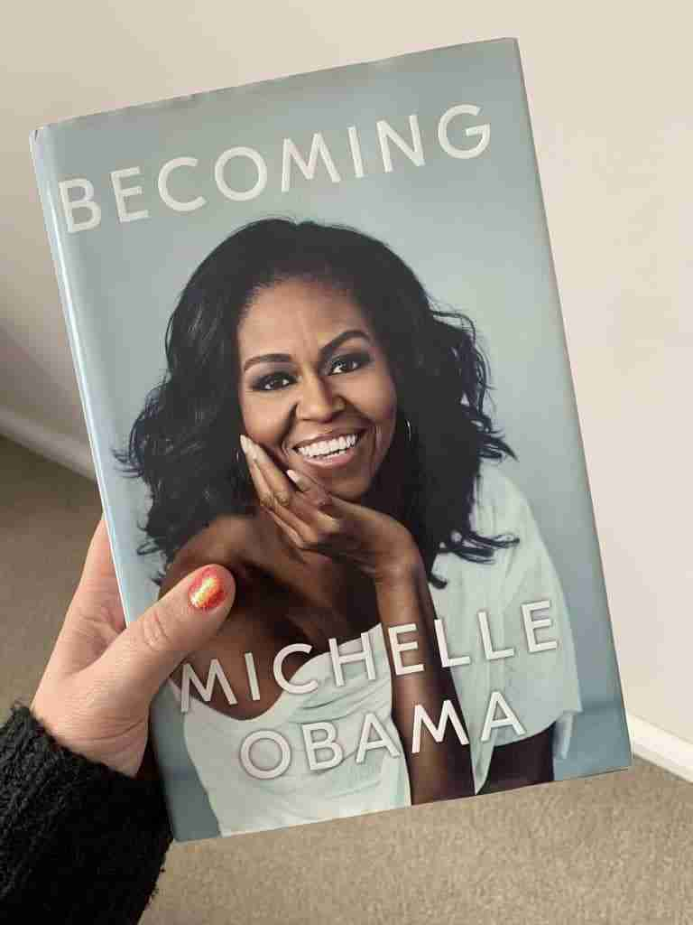 Becoming book cover by Michelle Obama