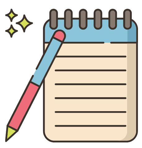 productivity tip get your ideas out of your head and onto paper. keep a notepad and pen next to your bed to write ideas down