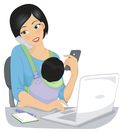 productivity tip stop feeling mom guilt about trying to do it all