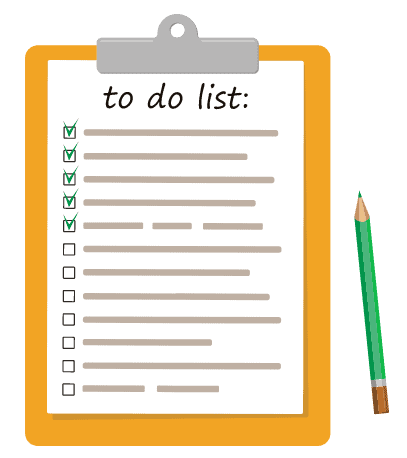 productivity tip to do list each morning